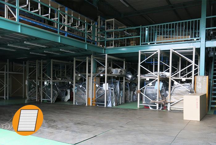 倉庫の床の保護